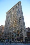 De historische Strijkijzerbouw in Manhattan Royalty-vrije Stock Foto