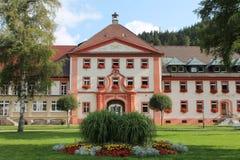 De historische Townhall-bouw Royalty-vrije Stock Afbeelding