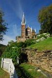 De historische Veerboot van Harpers van de Kerk van de Steen Katholieke, WV Stock Afbeeldingen