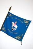 De historische vlag van de Tsjechische Organisatie van Orel Stock Foto