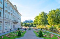 De historiska ställena av Salzburg Royaltyfri Bild
