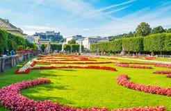 De historiska ställena av Salzburg Arkivbild