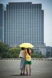 De hitte van Tokyo Stock Afbeelding