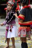 De Hmong-kinderen in Thailand Stock Foto