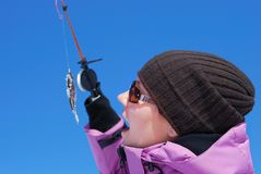 De hobby van de winter Royalty-vrije Stock Foto's