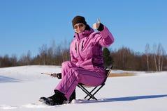 De hobby van de winter Royalty-vrije Stock Afbeeldingen