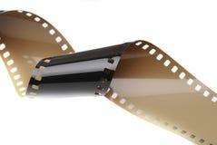 De Hobbyverslag van de film Spiraalvormig 35mm Uitstekend Film Royalty-vrije Stock Foto's