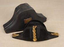 De hoed met opgeslagen randen van Edwardian Stock Foto