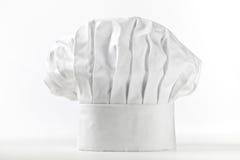 De hoed of toque van de chef-kok Stock Afbeeldingen
