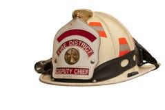 De hoed van brandbestrijders Royalty-vrije Stock Foto