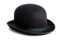 De hoed van de bowlingspeler Stock Fotografie