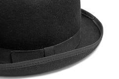 De hoed van de bowlingspeler Stock Foto's