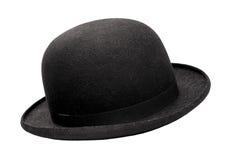 De hoed van de bowlingspeler Stock Afbeeldingen