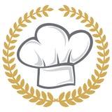 De hoed van de chef-kok Royalty-vrije Stock Afbeeldingen