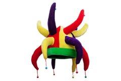 De hoed van de clown royalty-vrije stock foto