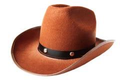 De hoed van de cowboy Stock Afbeelding
