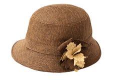 De hoed van de dame Stock Afbeeldingen