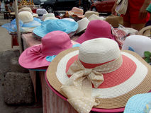De hoed van de de zomerzon Royalty-vrije Stock Fotografie