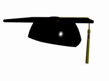 De hoed van de graduatie. stock illustratie