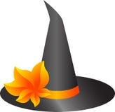 De hoed van de heks Royalty-vrije Stock Afbeeldingen