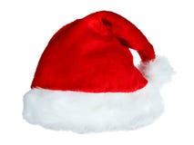 De hoed van de kerstman Stock Afbeelding