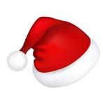 De Hoed van de kerstman Royalty-vrije Stock Foto
