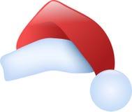De hoed van de kerstman Stock Foto