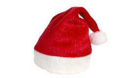 De hoed van de kerstman. Stock Foto