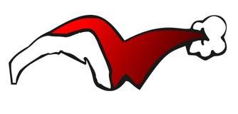 De hoed van de Kerstman vector illustratie