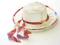 De hoed van de lente Royalty-vrije Stock Foto's
