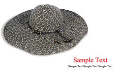 De hoed van de manier stock afbeeldingen