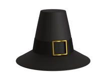 De hoed van de pelgrim royalty-vrije stock afbeelding