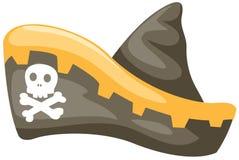 De hoed van de piraat Royalty-vrije Stock Afbeeldingen