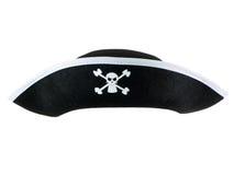 De Hoed van de piraat royalty-vrije stock afbeelding