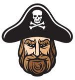 De hoed van de piraat Stock Afbeeldingen