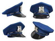 De hoed van de politieagent vector illustratie