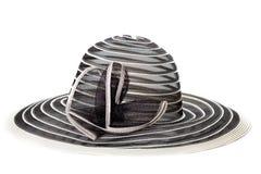 De hoed van de vrouw Stock Foto