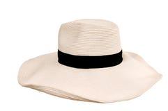 De hoed van de vrouw van Beide Stock Afbeelding