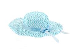 De hoed van de vrouw van de zomer Stock Afbeeldingen