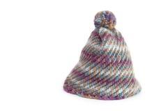 De hoed van de winter in wol Stock Foto's