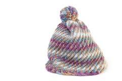 De hoed van de winter in wol Royalty-vrije Stock Foto
