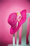 De hoed van de zomer royalty-vrije stock afbeeldingen