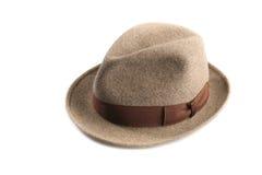 De hoed van Fedora Royalty-vrije Stock Afbeeldingen