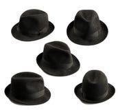 De hoed van Fedora Stock Afbeeldingen