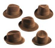 De hoed van Fedora Royalty-vrije Stock Afbeelding