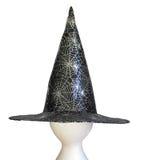 De hoed van heksen stock afbeelding