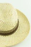 De hoed van het mensenstro Stock Afbeeldingen