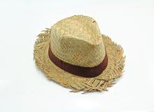 De hoed van het strand Stock Afbeelding