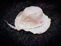 De hoed van het stro royalty-vrije stock foto