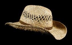 De hoed van het stro Royalty-vrije Stock Foto's
